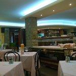 Vista sala ristorante