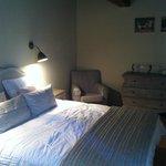 chambre décorée avec gout