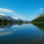 Berge, Seen, herrliche Landschaften