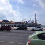 Pleasure Pier at Galveston, TX.
