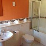Lovely clean spacious bathroom
