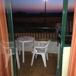 Post tramonto dalla camera