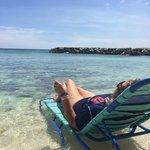 Pequeña playa-picina privada