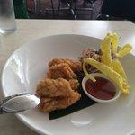 Very delicious and fresh calamari!