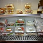 Displays of Gourmet meals to Go!
