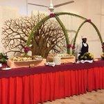Il buffet dei dolci e della frutta... Che bontà!