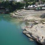 Sponde del fiume Neretva a Mostar