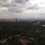 Vista hacia Chapultepec , piso 35