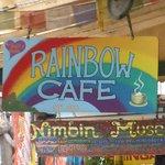 sign at main street in Nimbin