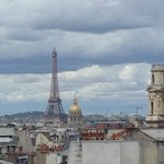 Zoomed Tour Eiffel from our window