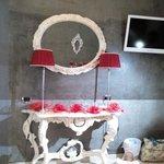 le nostre velette decorano una già stupenda stanza