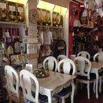 Restaurant & shop in one!