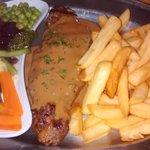 Steak in Port Wine and Stilton Sauce 12 oz