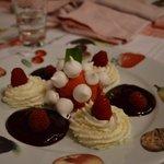 un des délicieux desserts