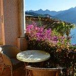 The Balcony overlooking the Mediterranean Sea