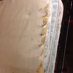 Need I say more for these worn out mattress?!!!! This was in the room 23/