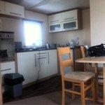 Kitchen in van 49, 3 bedrooms.