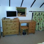 Rafters main bedroom furniture (also wardrobe and arm chair)