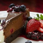 Chocolate Raspberry Truffle Torte