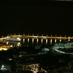 Porto di Capri, dalla mia camera, di notte