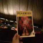 Playbill da peça
