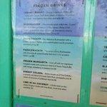 great reasonable menu