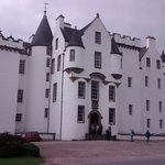 The front off Blair castle.