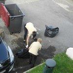 Enlevement des ordures