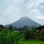 el volcan desde la Habitacion