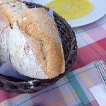 Holzofenbrot mit Olivenöl