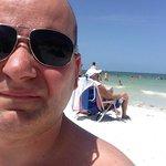 herlig strand, like varmt i vann som i lufta!