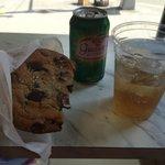 cookie com sal marinho e guaraná!