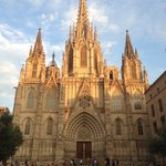 Barcelona Cathedral opposite the hotel