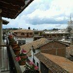 Vista desde el balcon de la habitación 35