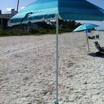 Free beach umbrella and Chair frm homewood bonita springs