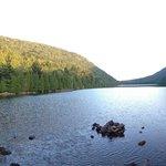 Pond at base of Cadillac Mountain