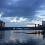 Congress Avenue Bridge; Waiting For The Bats