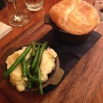 Angus Beef Pot Pie with Mash and Veg