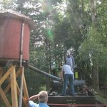 Forest Discovery Centre steam train water station