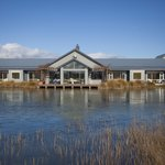 Matuka Lodge and the trout pond