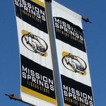 Out door signs advertising Mission Springs Brewpub & Restaurant  |  7160 Oliver Street, Mission,