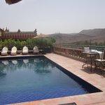 piscine , beauté du lieu , magie...