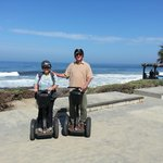 Windandsea Beach, La Jolla, CA - stop on Segway tour
