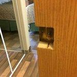 Bathroom Door Latch