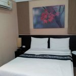 Comfortable and very clean bed and noiseless AC