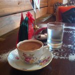 I ordered a Turkish coffee. They ask me in which cup I prefer it; Czech, Polish, Hungarian or Tu