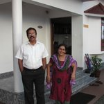 hotel owners-Mr.Poly and Mrs. Jessy