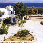 position of the hotel,20 meters from Logaras Beach