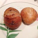 焼き印入りのパン