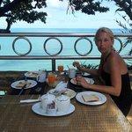 Top ontbijt met een prachtig uitzicht!